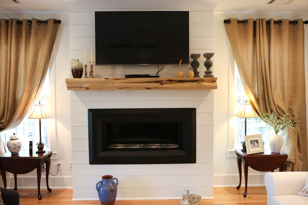 Size Your Fireplace Mantel, How To Mount A Floating Fireplace Mantel