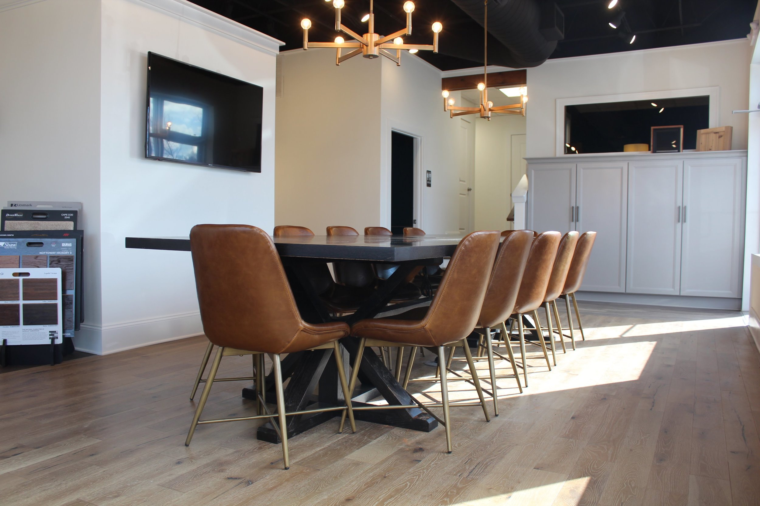 Ebonized Oak Table