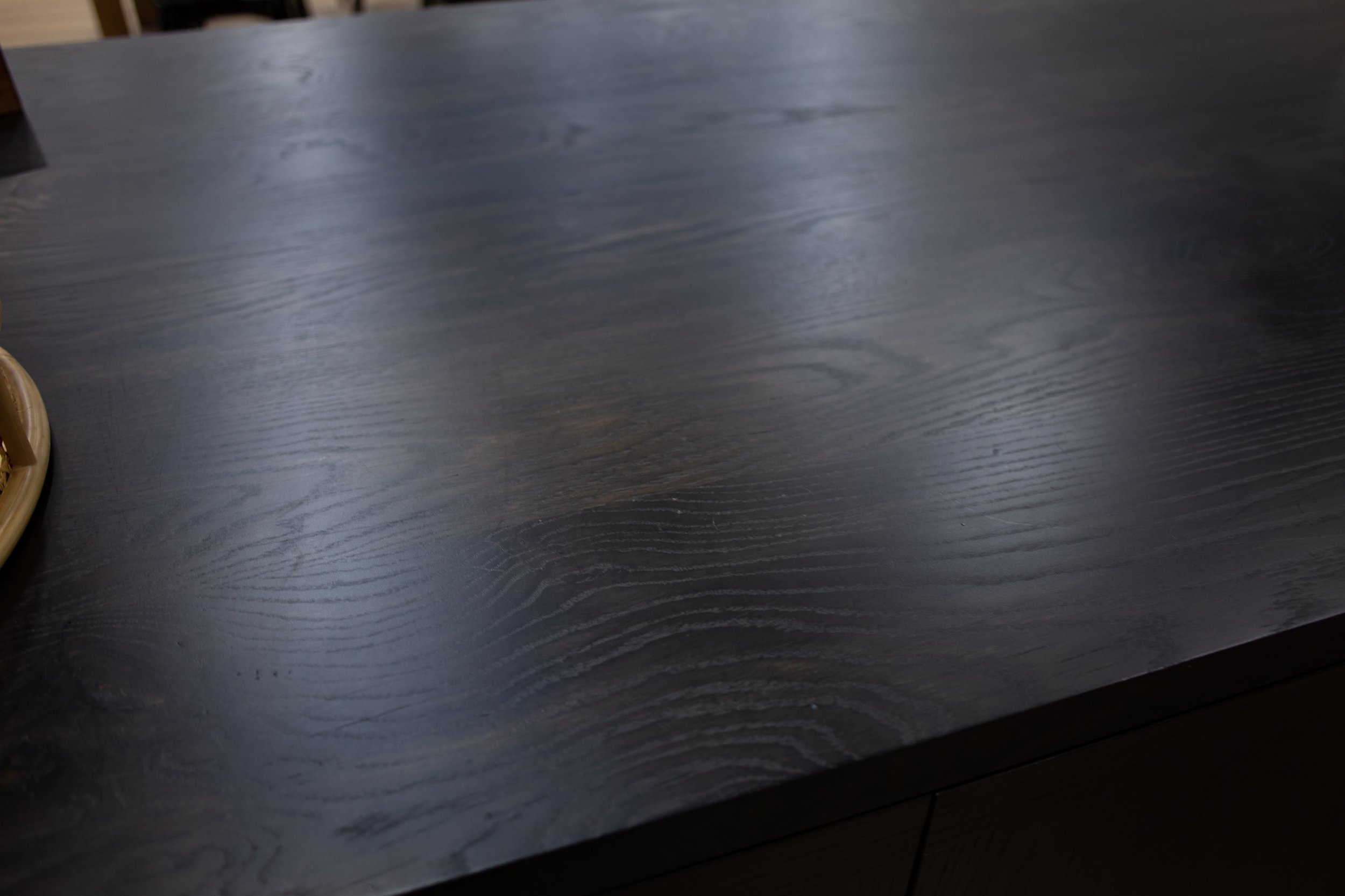 Ebonized Oak with Conversion Varnish