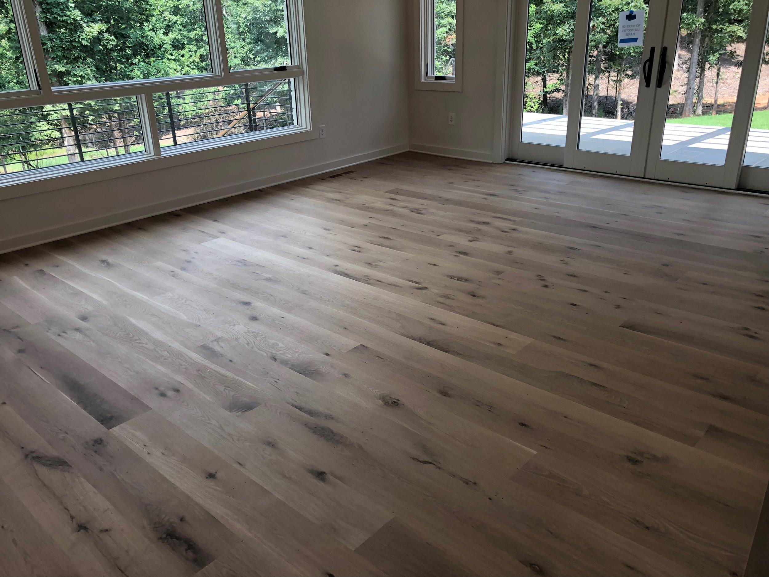1x8 Rustic White Oak Flooring