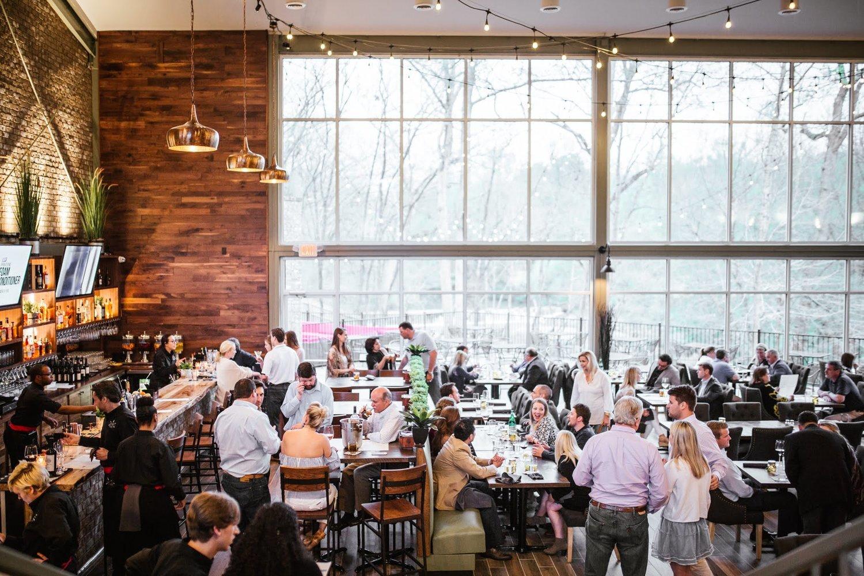 Location:    The Falls Restaurant    in Athens, GA    Builder: Strategic Development