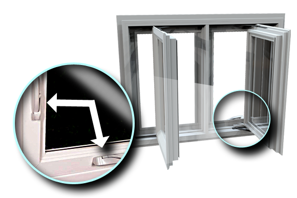 Casement Windows Swing