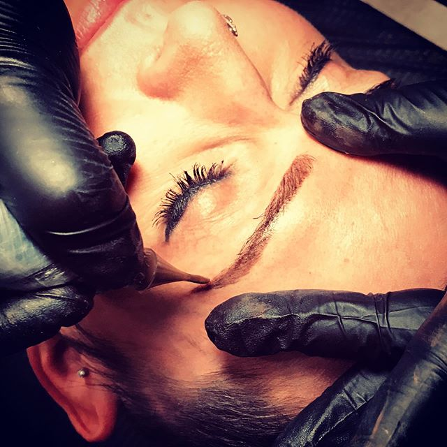 Only 4 spots left for 1/2 price microblading and shading.  Regularly $400-$450.  Your price $200-$225. . . . . . #easttattoocollective #nashvillemicroblading #microblading #eastnashville #eastnashvilletattoo