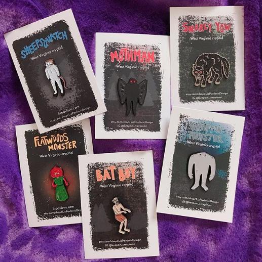 Liz Pavlovic Design - Pins, stickers, and other goodies