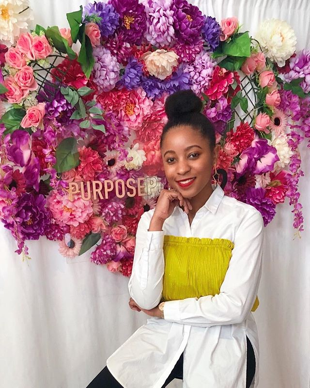 Hi, it's Taylor (@taytreschic) here. Yesterday we attended the @purposepusher event created by @sadesolomon #purposepushher19 . . . The over overarching theme was purpose, passion, and profit. I have never attended an event where the vulnerability in stories shared and connections made were so genuine. My heart is so full! . . . A gem that stuck out to me was when @thebreearthur of @blackgirlspray girlspray mentioned that after you come into your power what happens next is most important.  Basically, how do use your gifts to make an impact to those around you. . . . Excited to move into this new week recharged and ready to continue the work. Thank you so much to @sadesolomon and all the participants for an amazing event. We will be back next year!