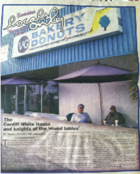 """Newspaper Article """"The Cardiff White House and Knights of the 'Round Table'"""