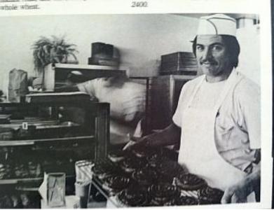 Joe Mettee, Owner VG Donut & Bakery -- 1979