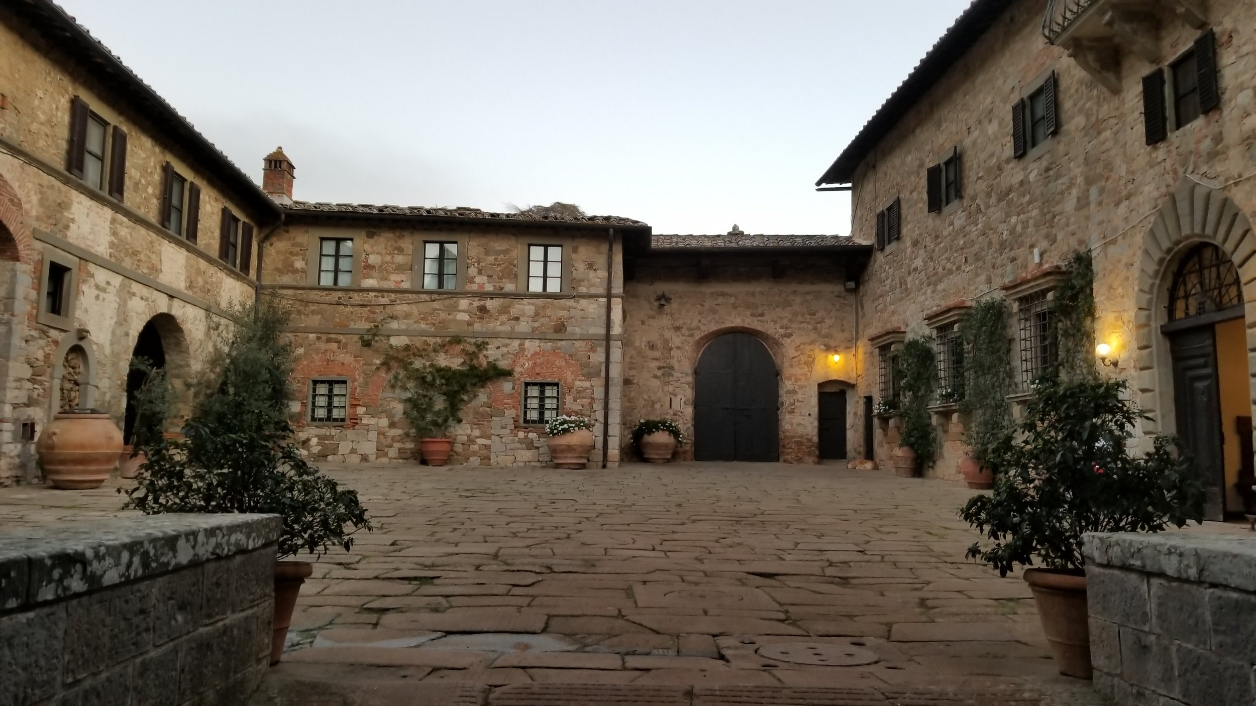 Our home in Tuscany for three nights