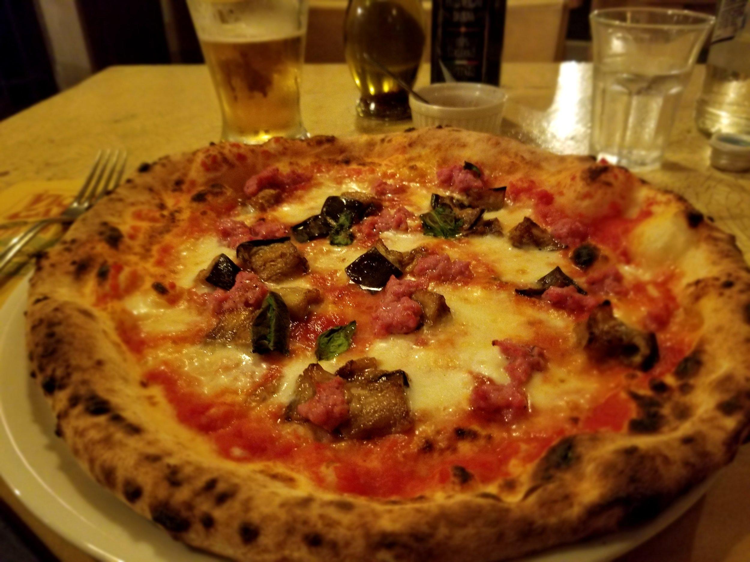 Chris' favorite Florentine pizza!