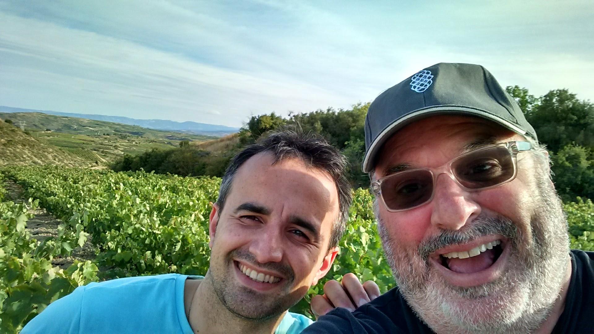 Jose and PFA host Chris Angelus in La Rioja