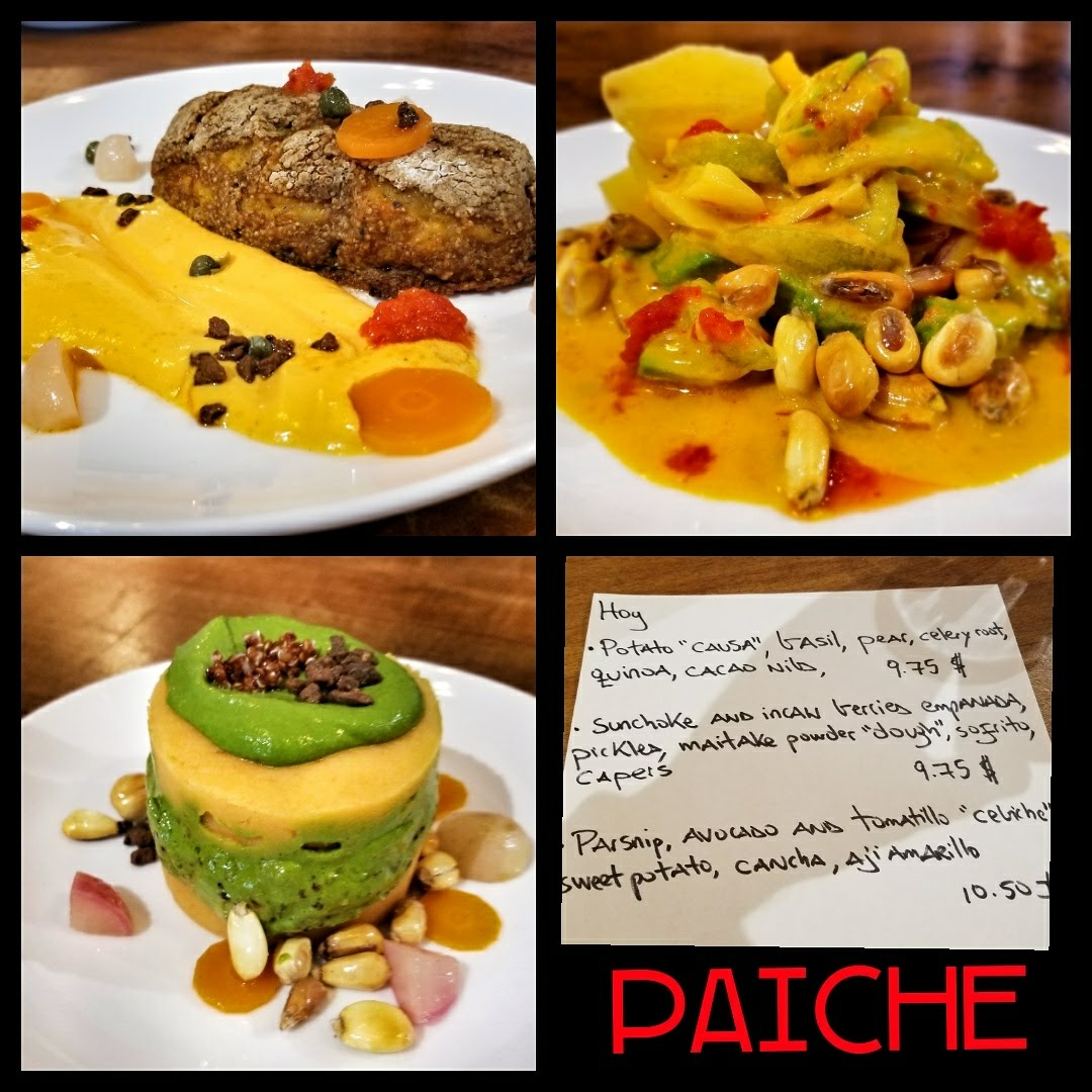Paiche - Vegan lunch