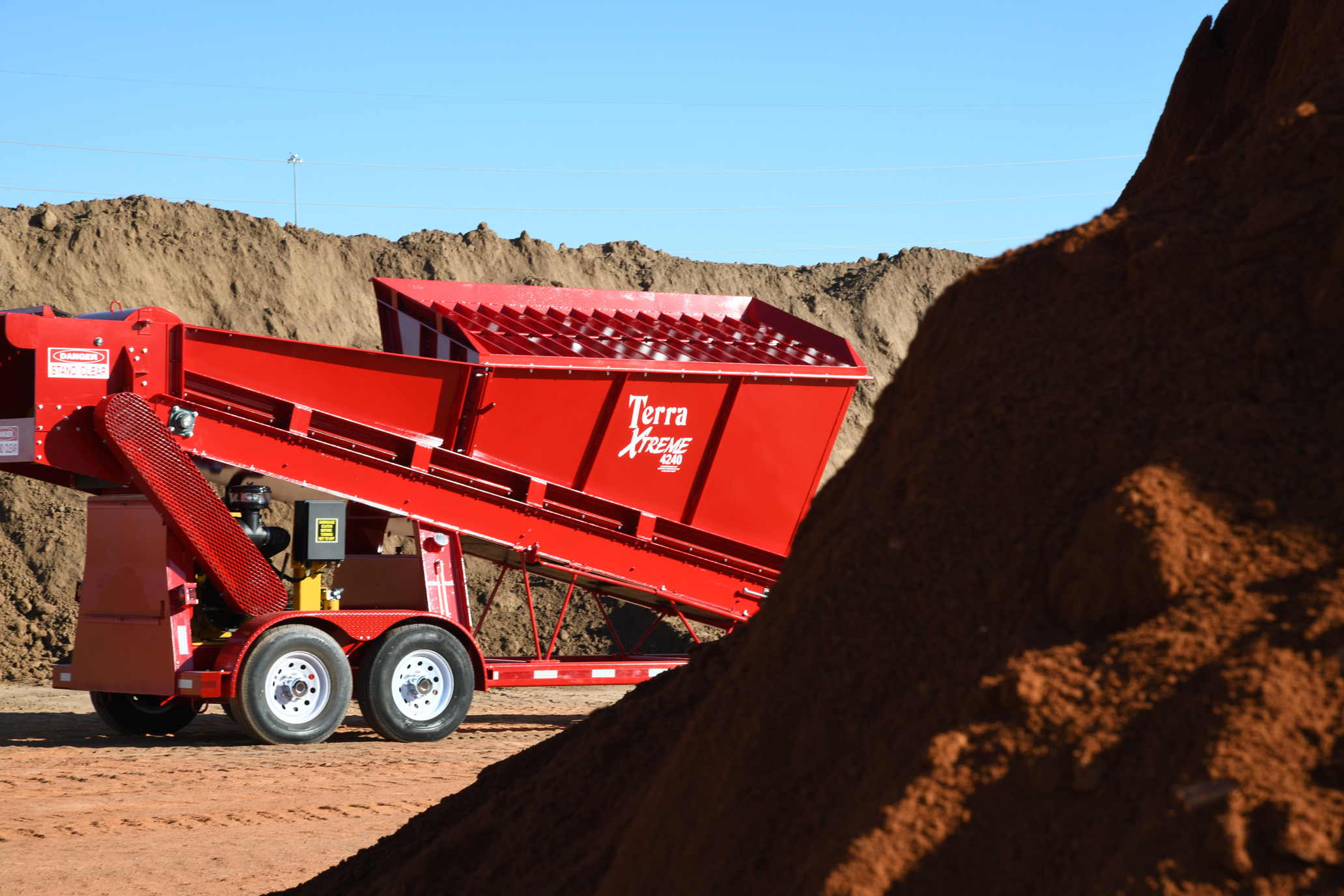 Murphy Products - Murphy Products, Inc. is a manufacturing company that produces the Terra XTREME, a one-of-a-kind mobile soil processor and pulverizer that blends and aerates material.