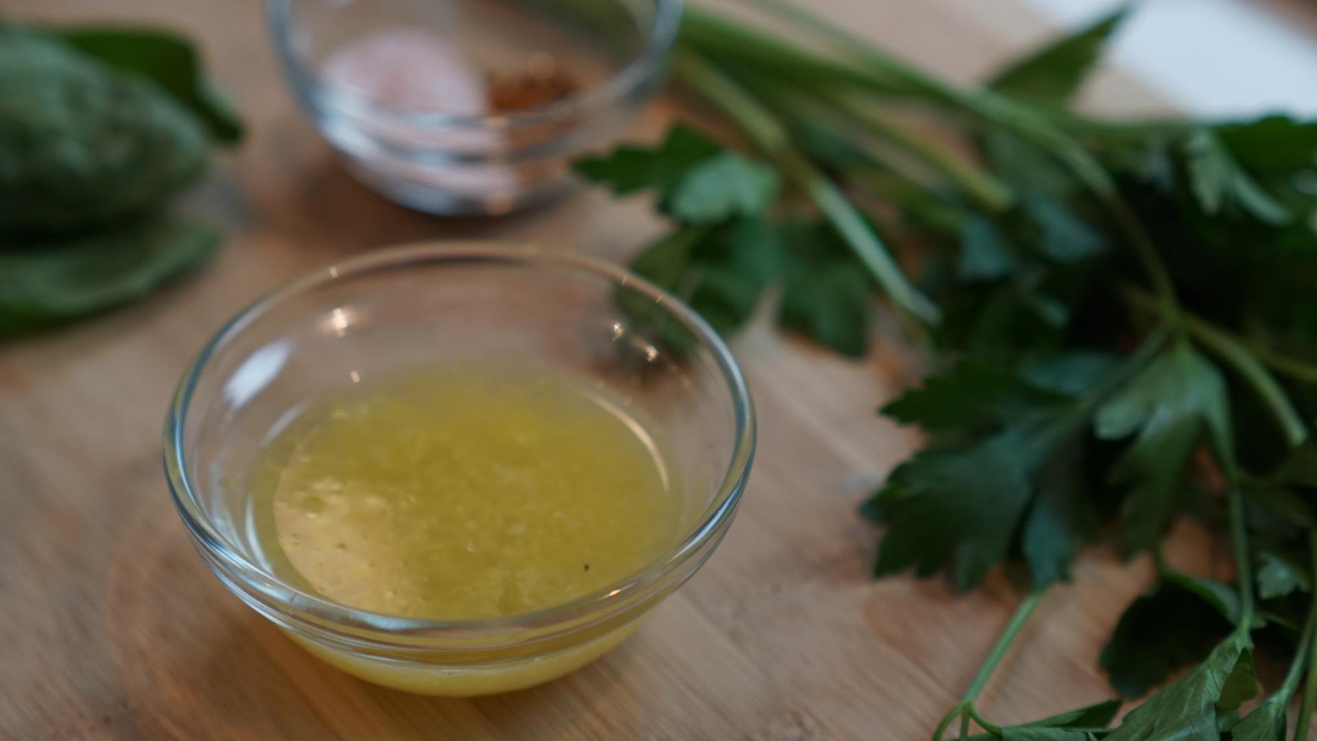 Zest and juice of 1 lemon