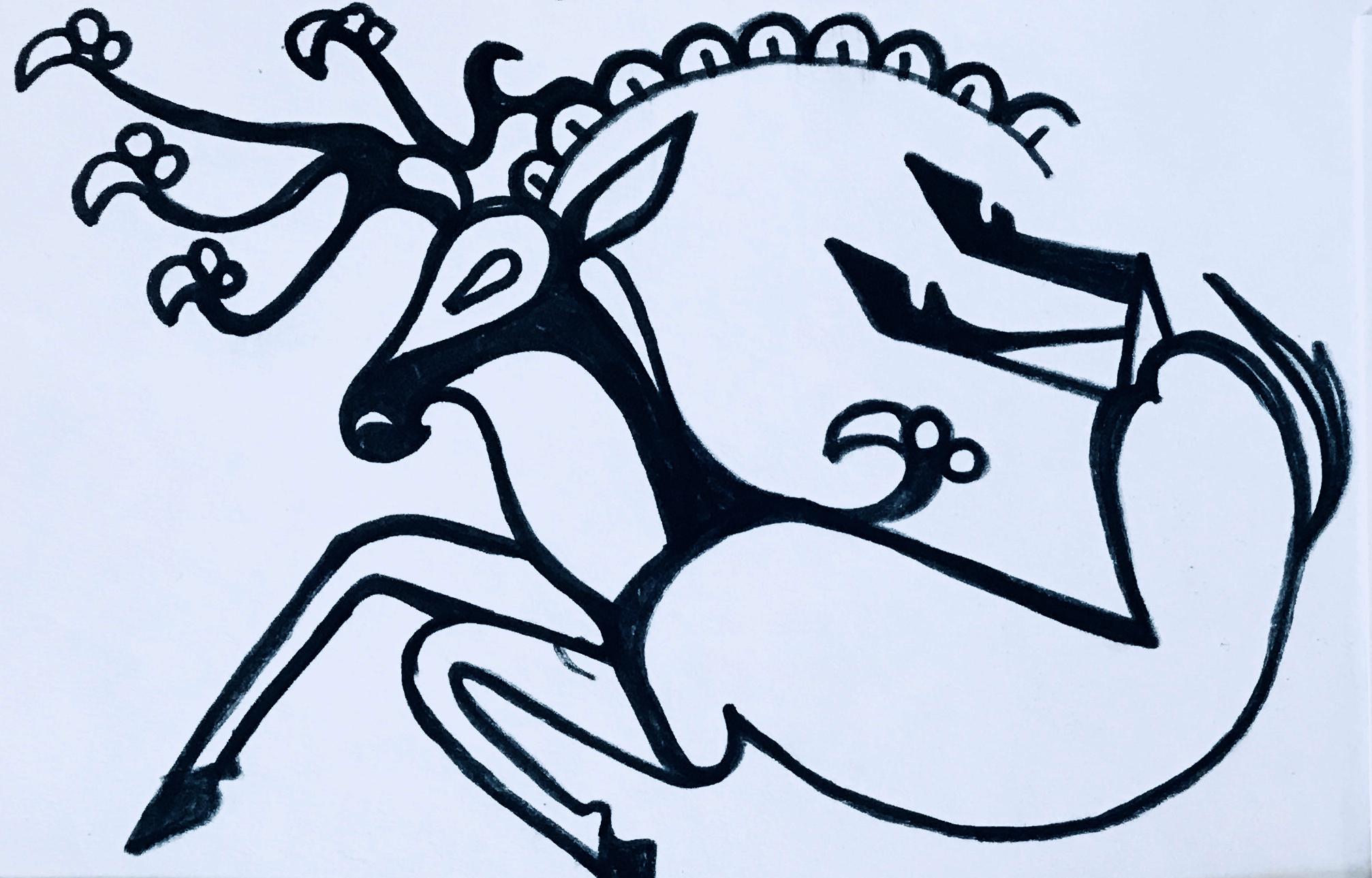 Siberian Ice Maiden Tattoo - Developing a design