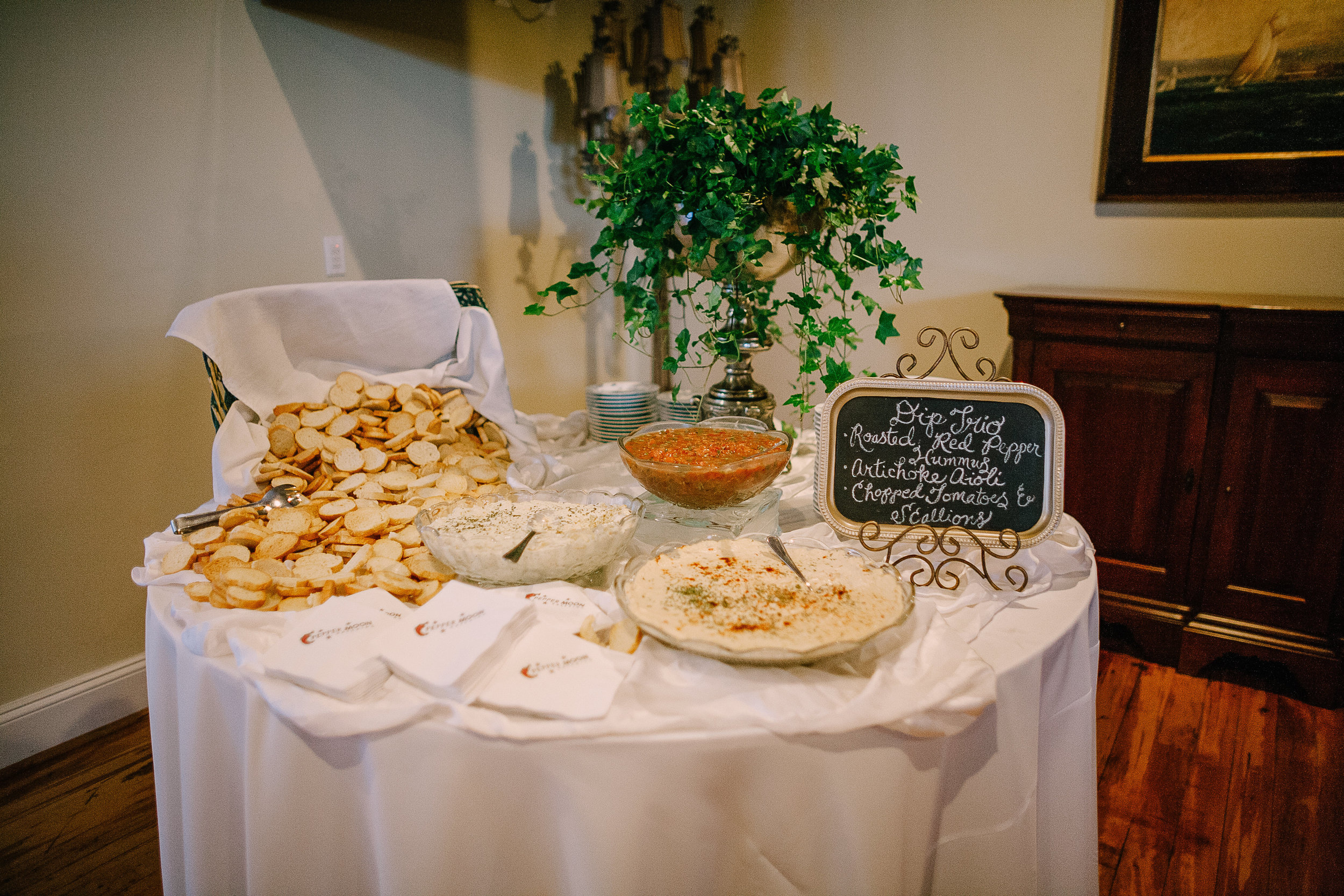 Pepper Moon Catering  |  Revolution Mill Events