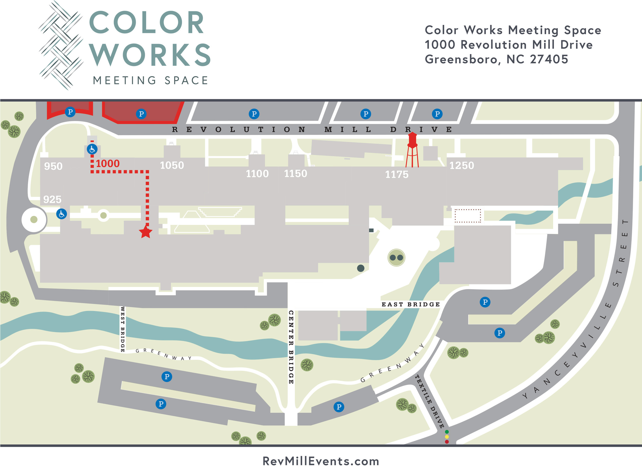 Color Works Meeting Space  |  Revolution Mill Events