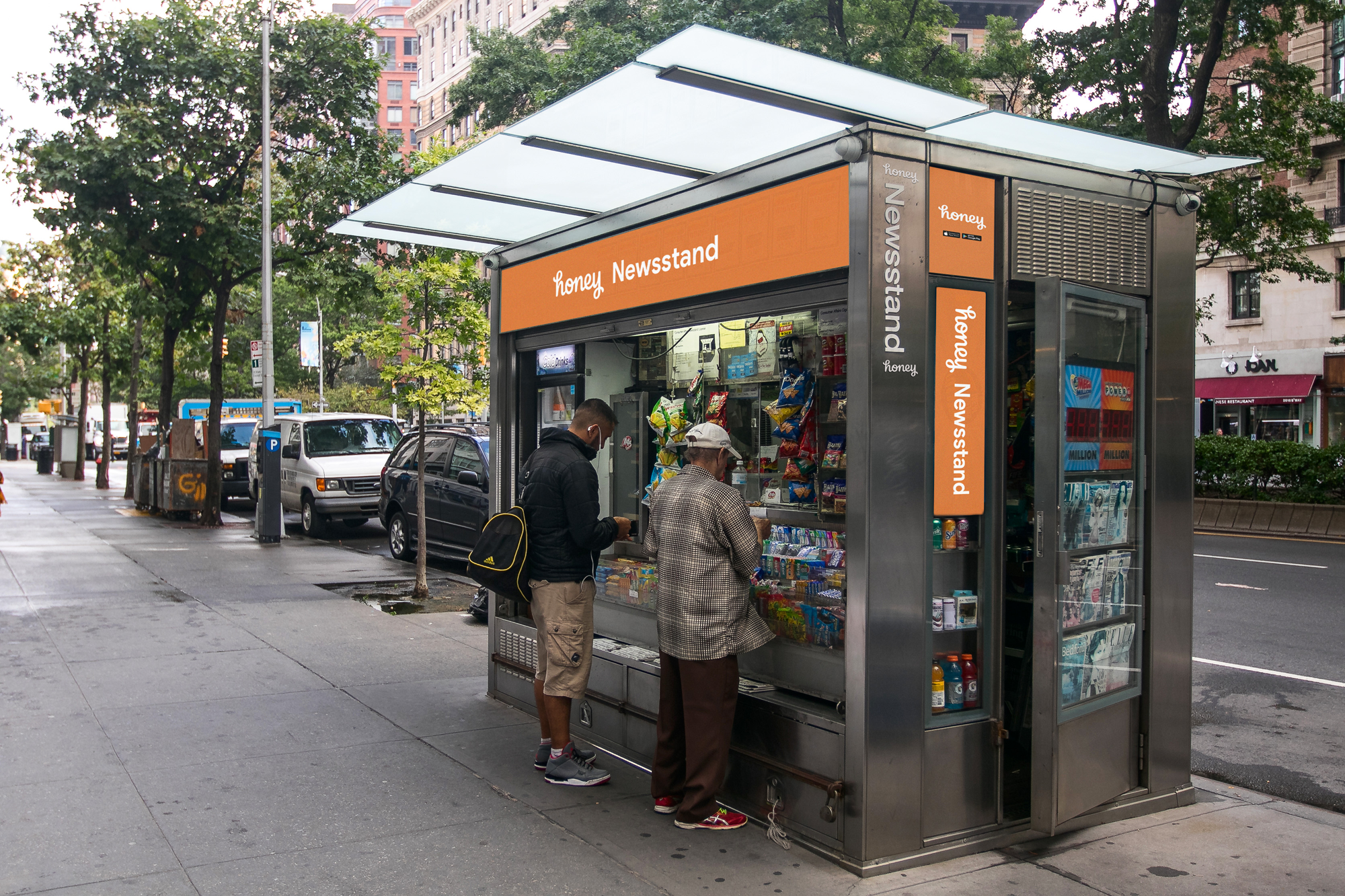 The campaign will focus on finding money in unexpected places. We'll kick it off by planting a Honey-branded news stand in New York City, which will allow us to control the experience.