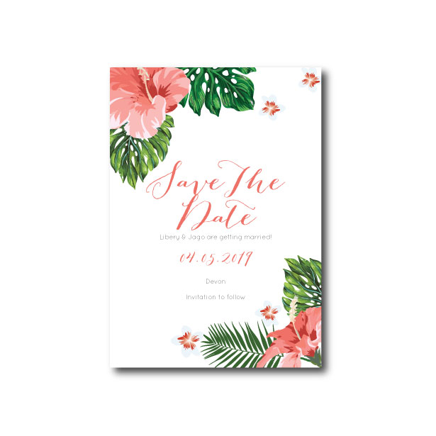 Hawaiian Tropical Save The Date - A6