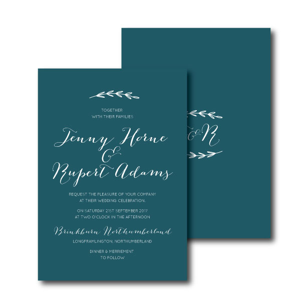 Simple Branch Invitation - A6 or A5