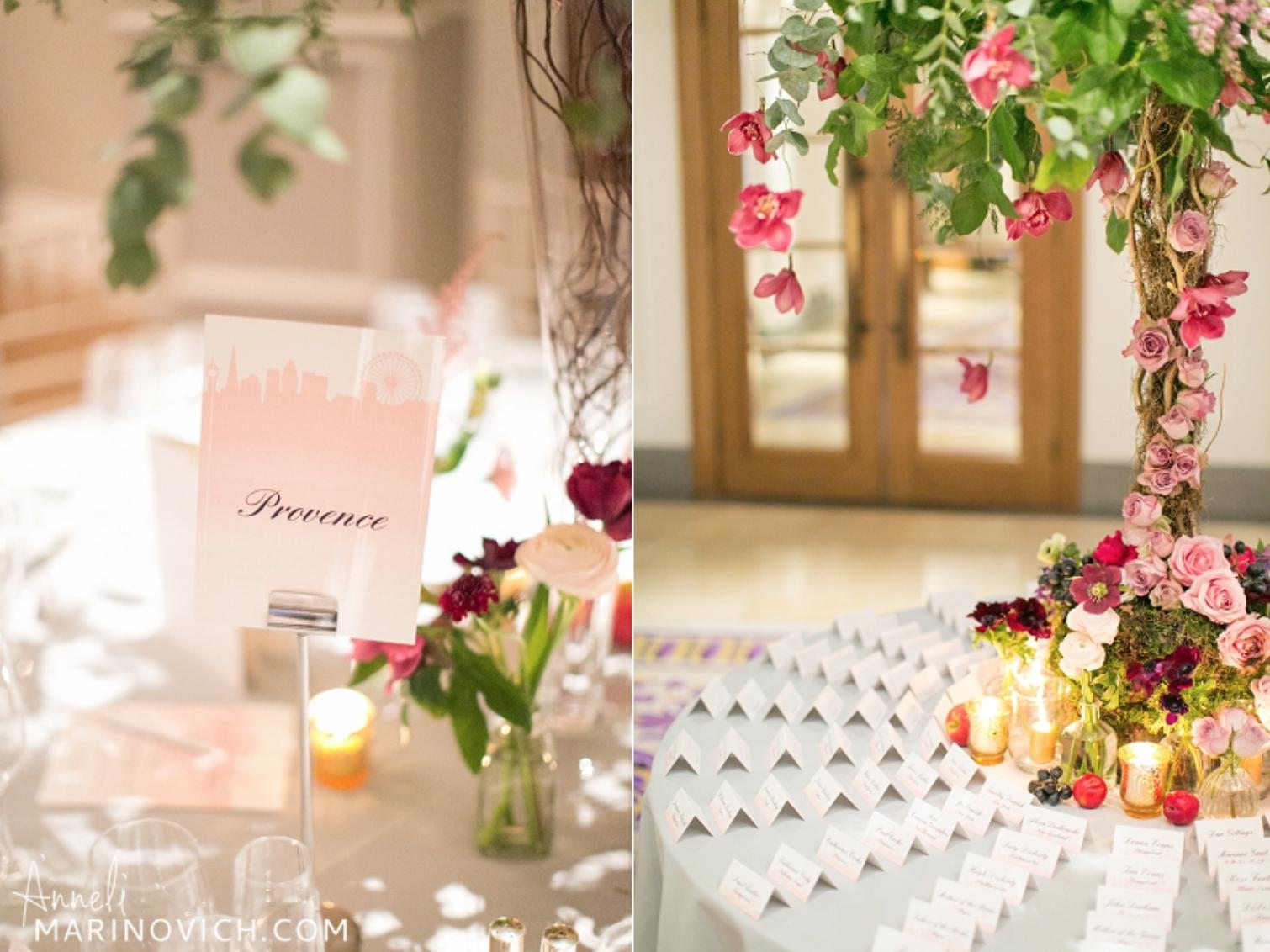 Corinthia London Wedding Tablescapes