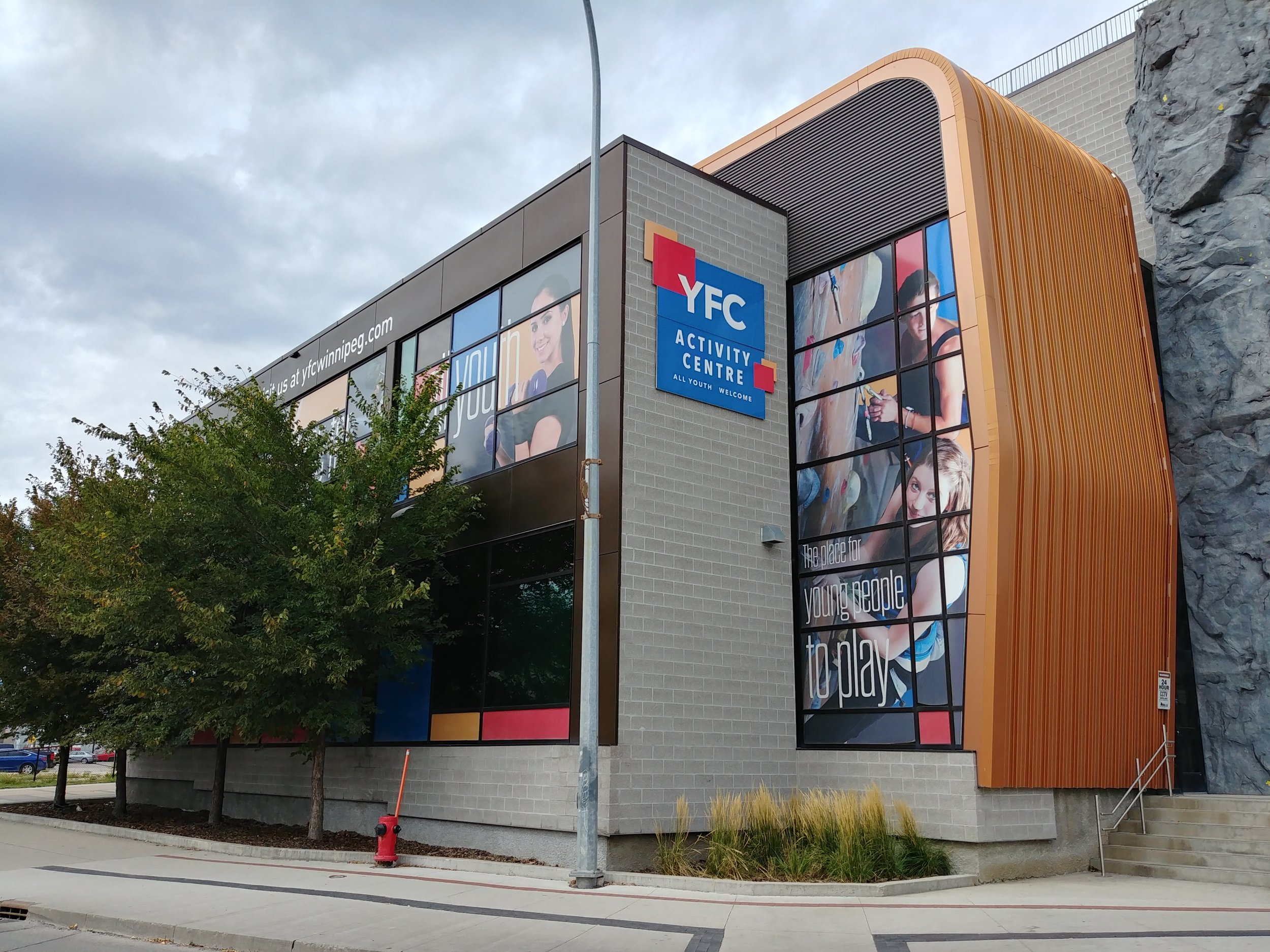 masterworks youth activity centre building