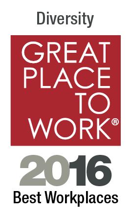 Source:https://www.greatplacetowork.com/best-workplaces/diversity/2016