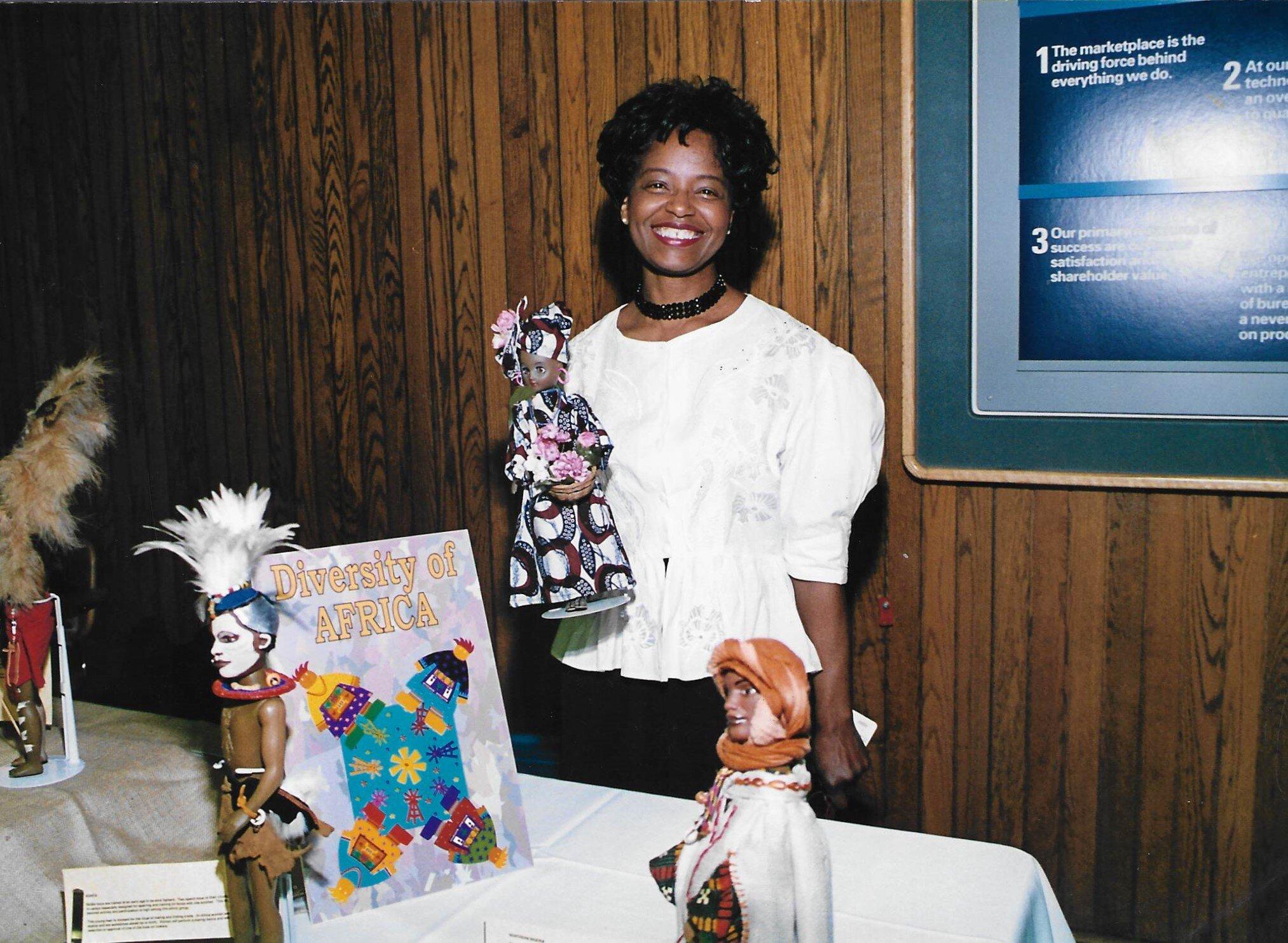 Jacqueline Harper at IBM in the 80s