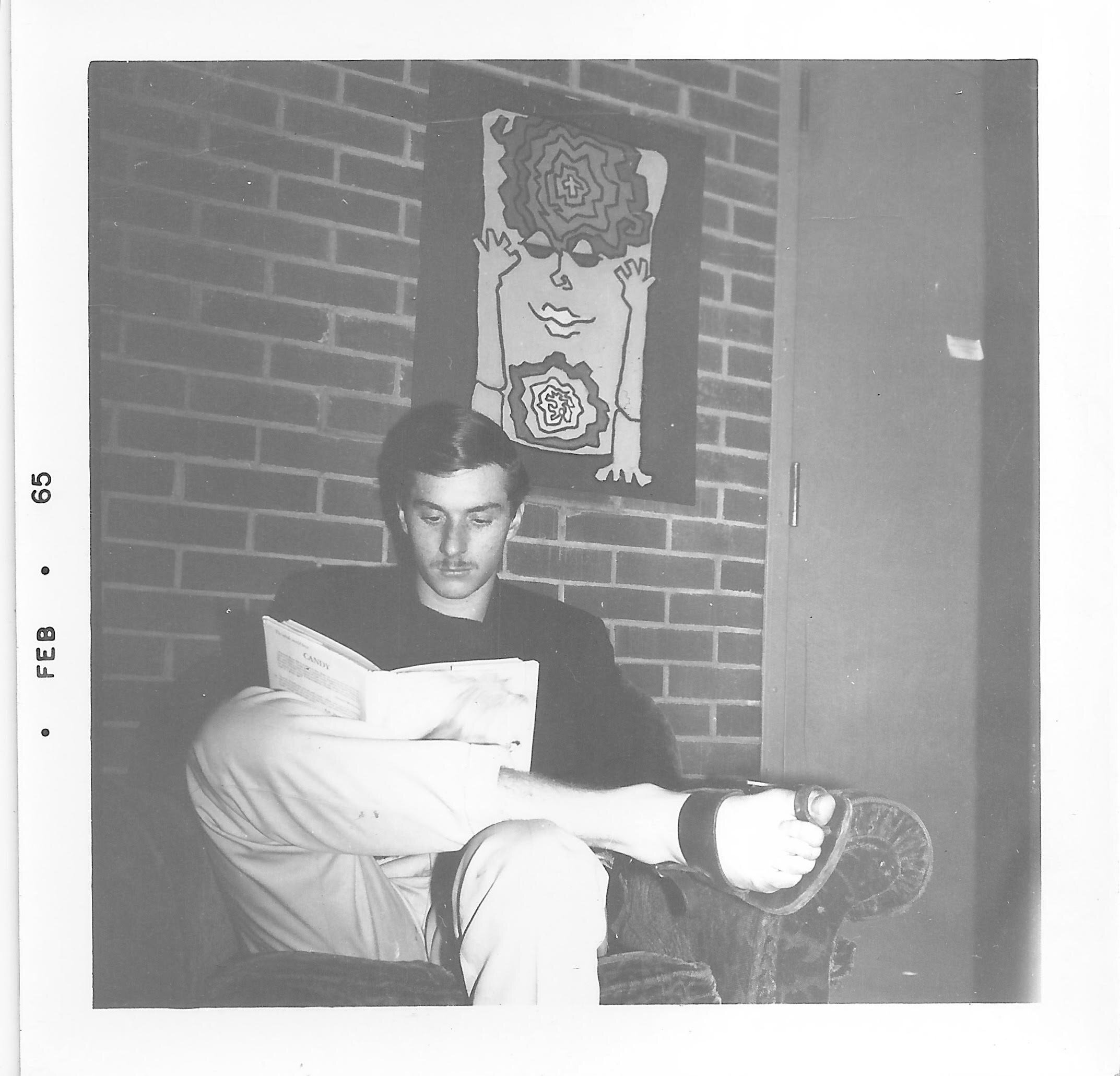 Howard in 1965 at Reed College