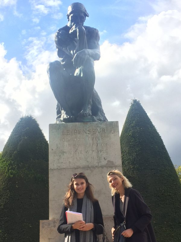 learn French at Rodin Museum