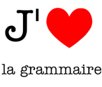 French lesson with grammaire