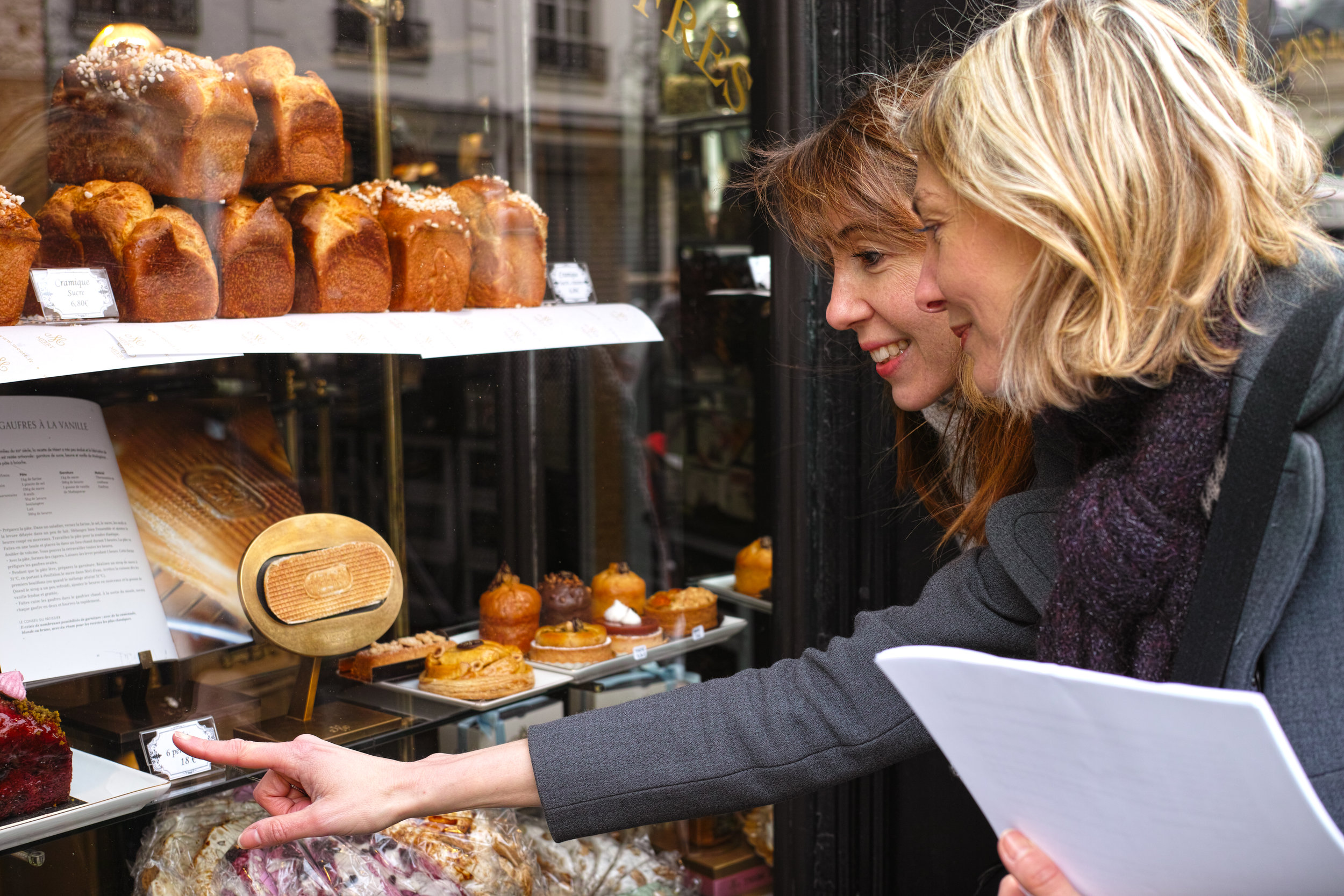 Private French lessons - gourmet tours
