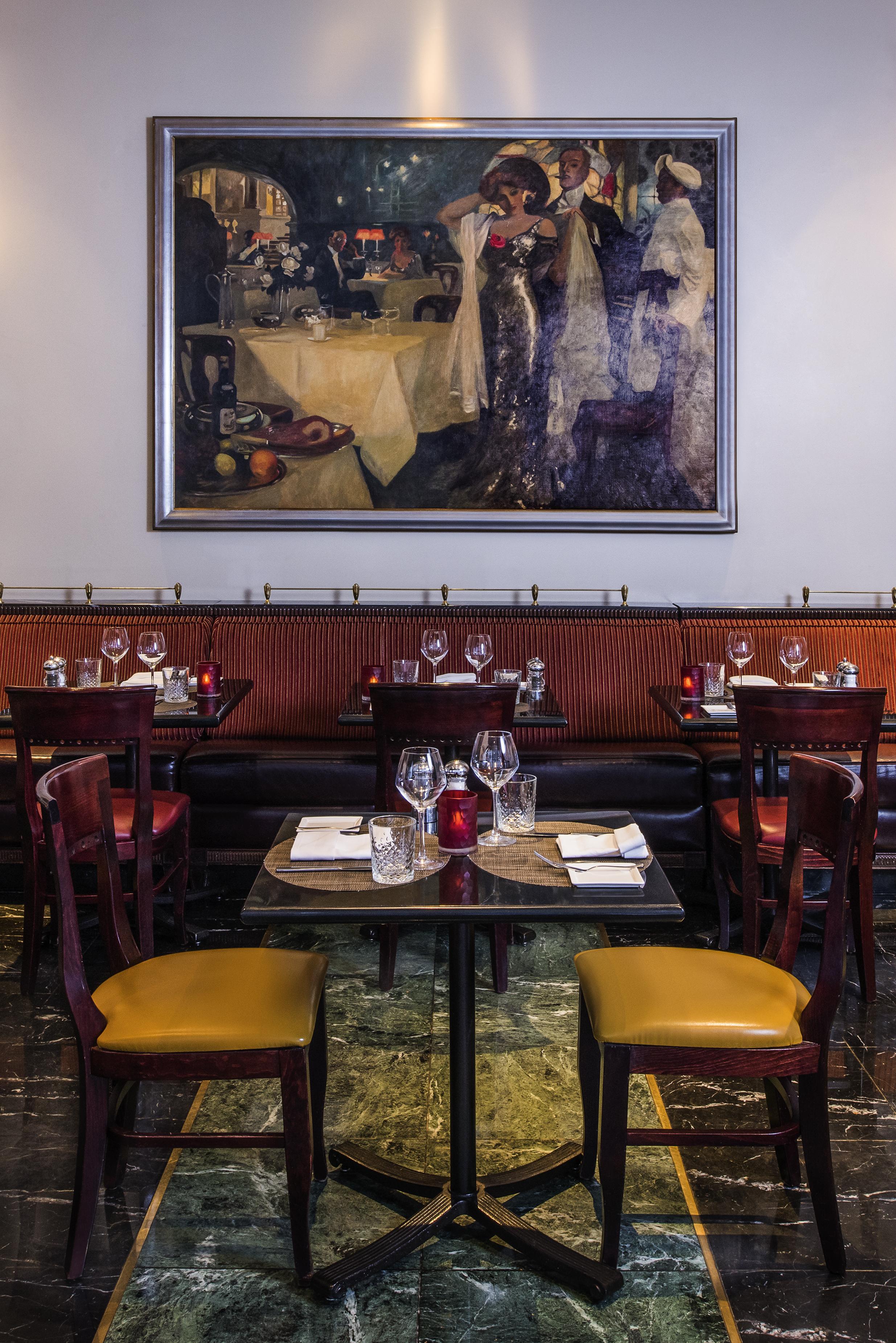 Gaby Restaurant NYC - Bench.jpg