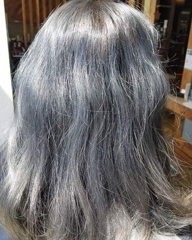 Ash Blue Silver by Jen 💞