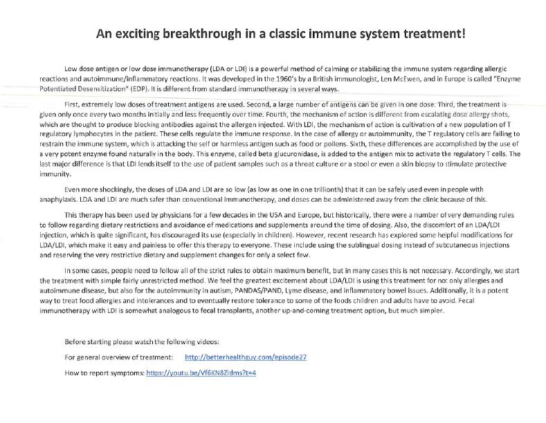 Breakthrough in Classic Immune System Treatment