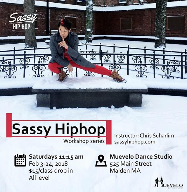 We're coming for you! Sassy Hiphop workshop on Saturdays at Muevelo dance :)