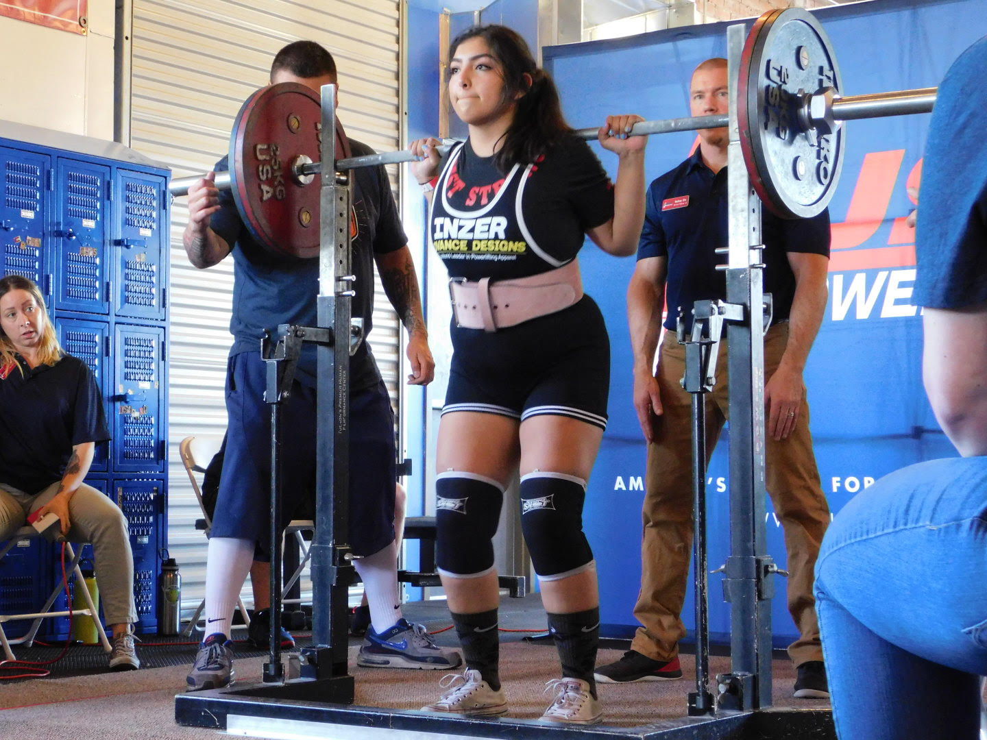 USAPL Powerlifter, student