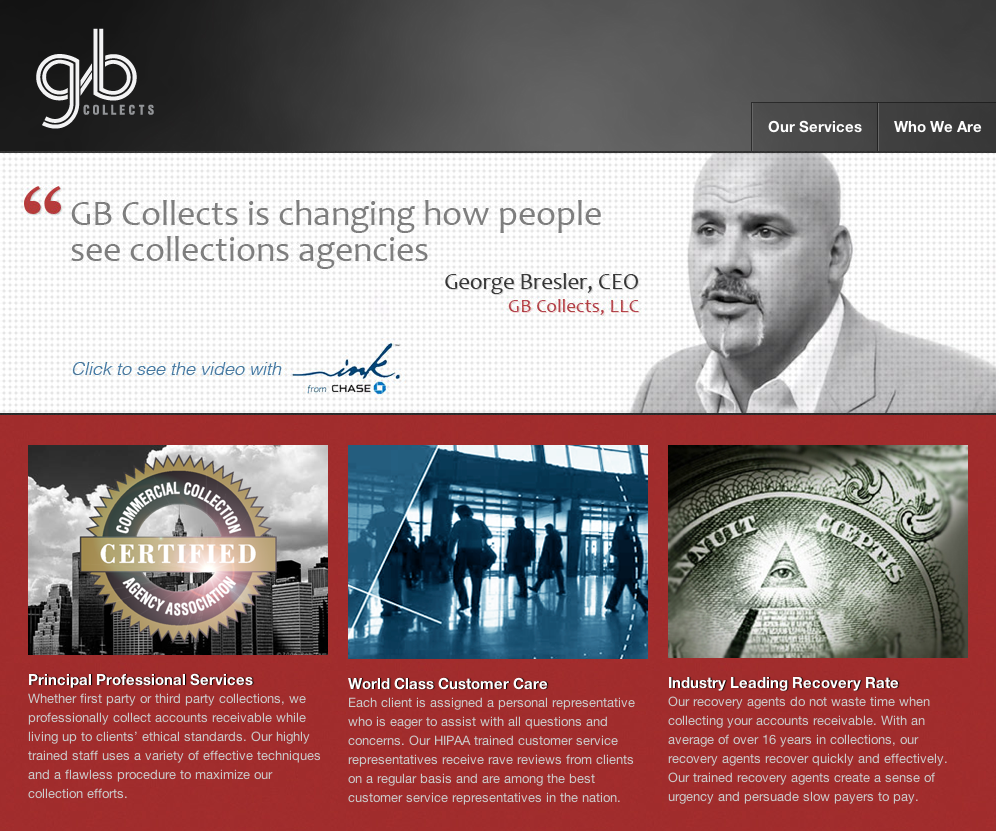 Collection agency design