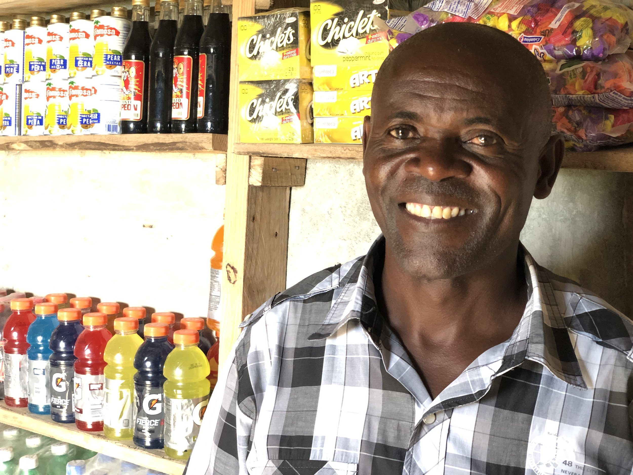 Pastor Leger is excited to see what God will do with this new shop in his community.