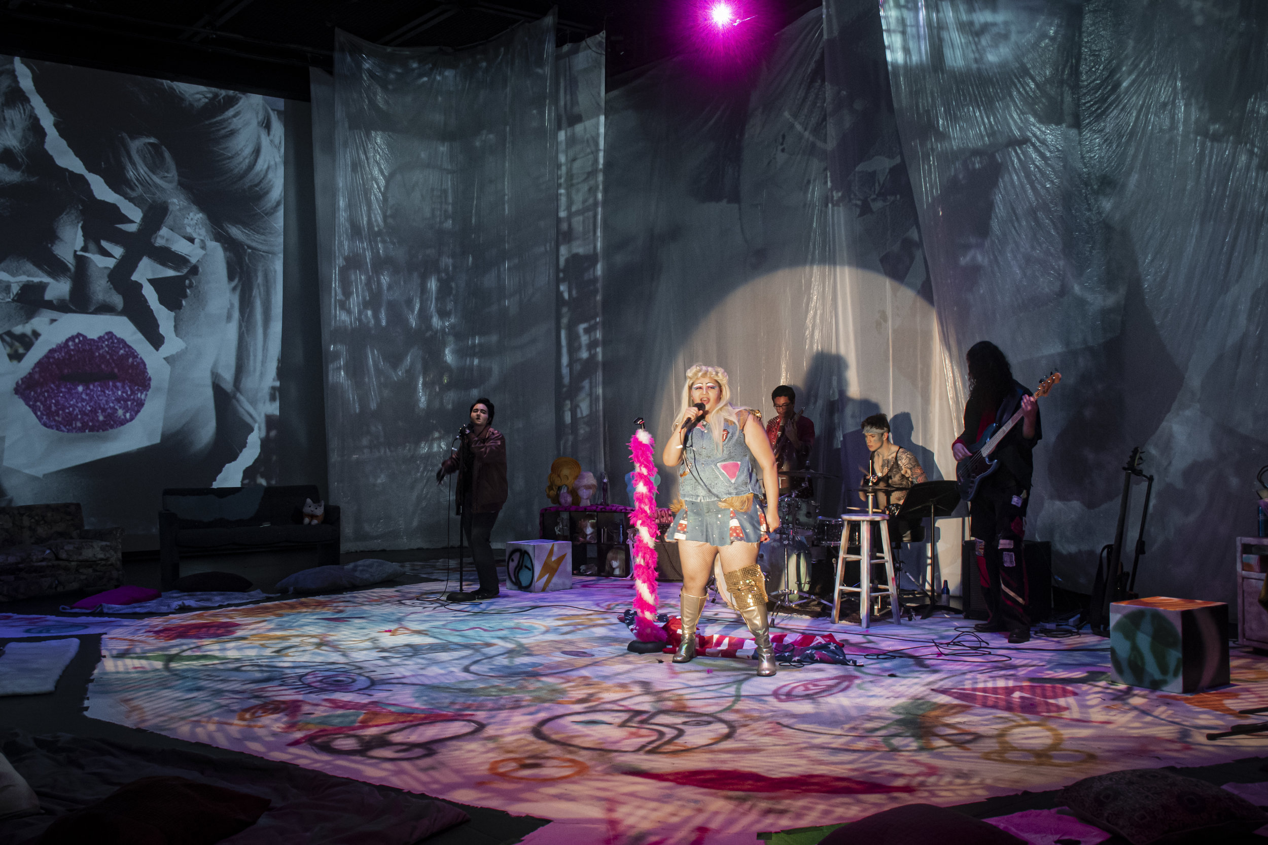 Hedwig and the Angry Inch - Producer, Scenic and Projection Designer