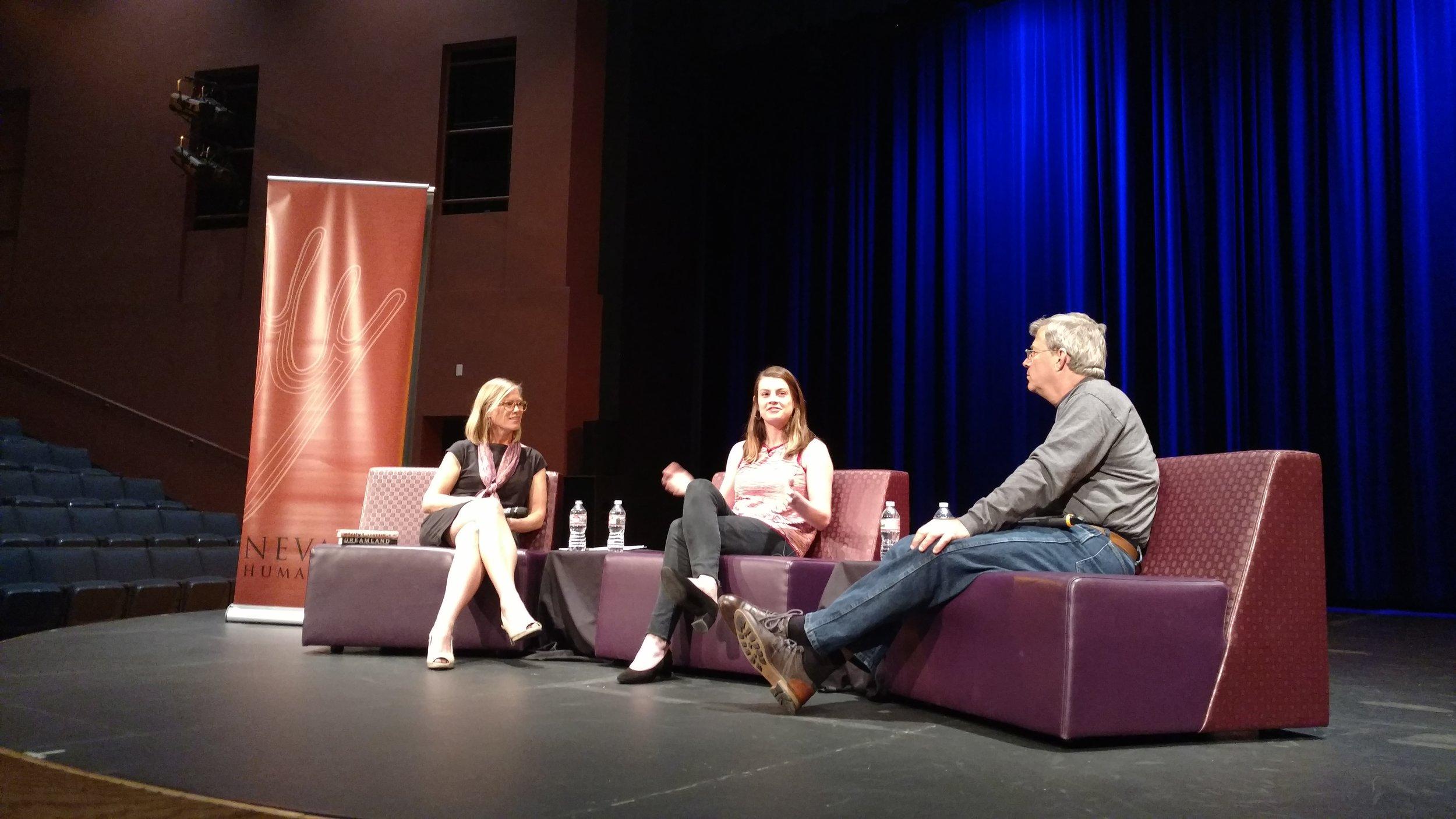 Julie Buntin and Sam Quinones in conversation, Las Vegas 2018.jpg