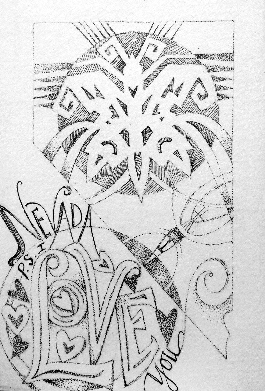 Bobbie Ann Howell_Nevada love postcard_pen and ink_butterfly_s.jpeg