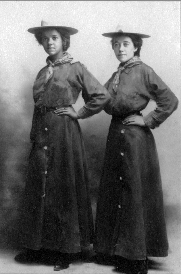 Minerva Teichert Art early photo with her sister Salt Lake City