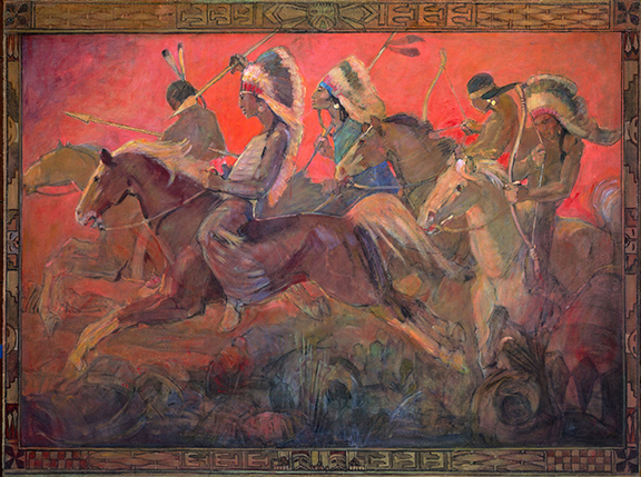 Minerva Teichert art Prints America Indian on horses