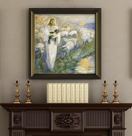 Minerva Teichert Art Rescue Of The Lost Lamb Art Sale