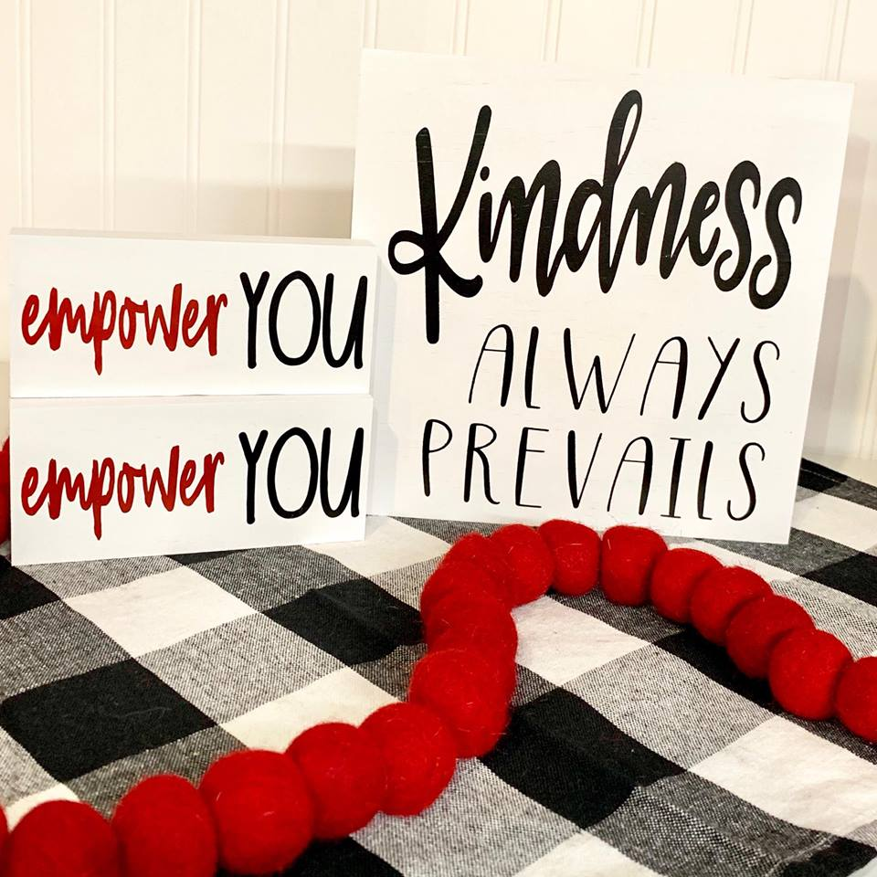 Kindness Always Prevails Block