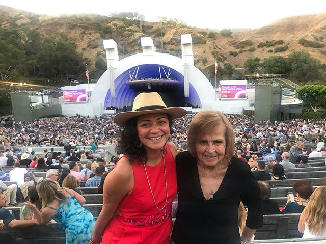 Best date of the year. At the @hollywoodbowl seeing the Gipsy Kings and Las Cafeteras with my best friend and abuelita. I love you. ❤️ ain't nothin like L.A. ✊🏽🇲🇽