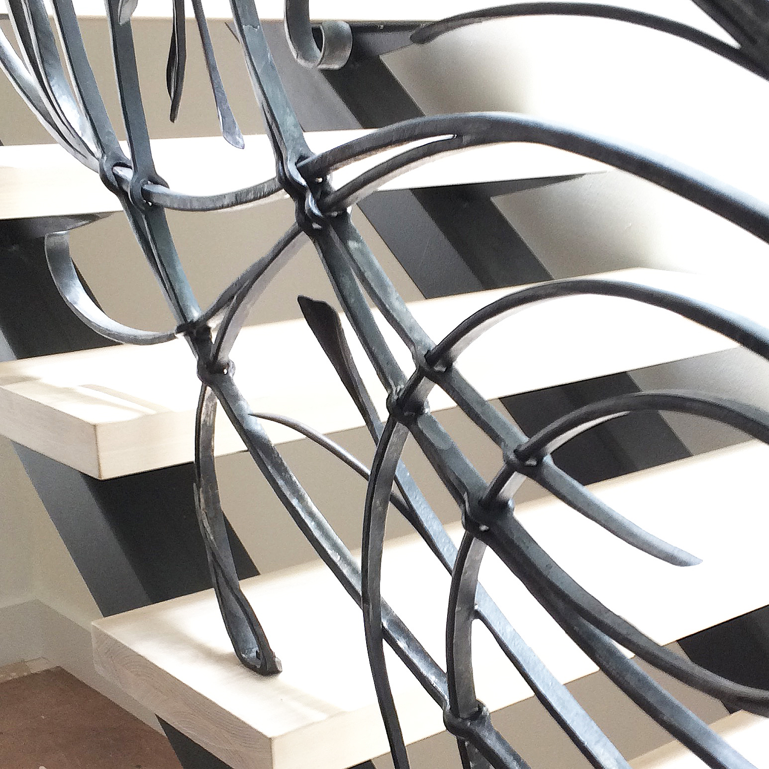 Contemporary Forged Railing.jpg