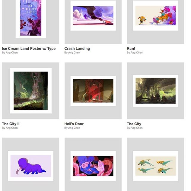 ive some prints available on @inprnt ⭐️ url in my bio! if theres an image you want a print of, dm me and I'll upload!