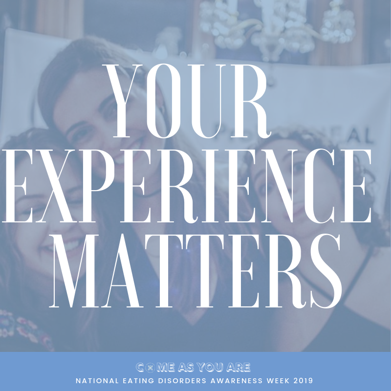 Your Experience Matters