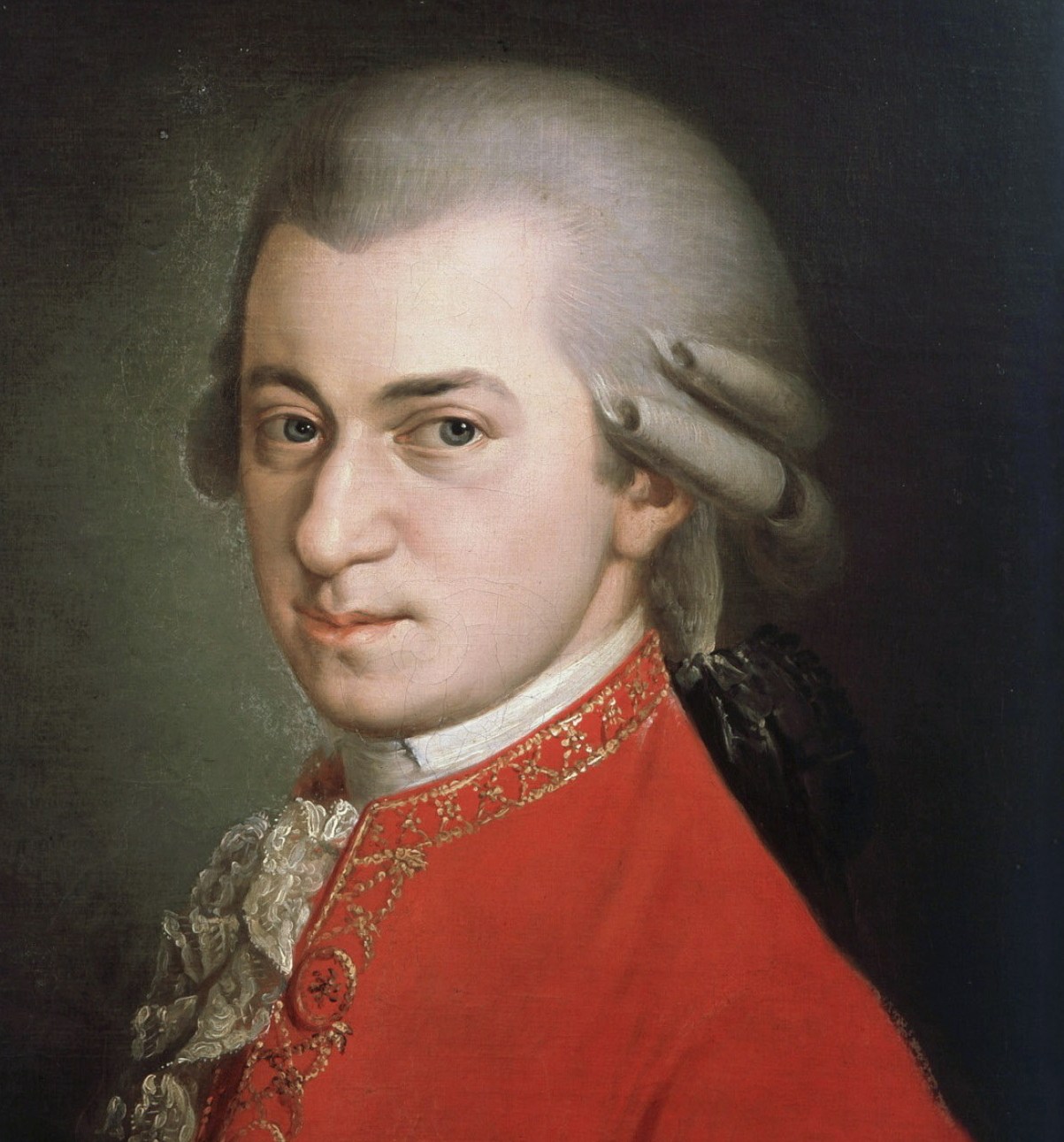 Painting of Wolfgang Amadeus Mozart